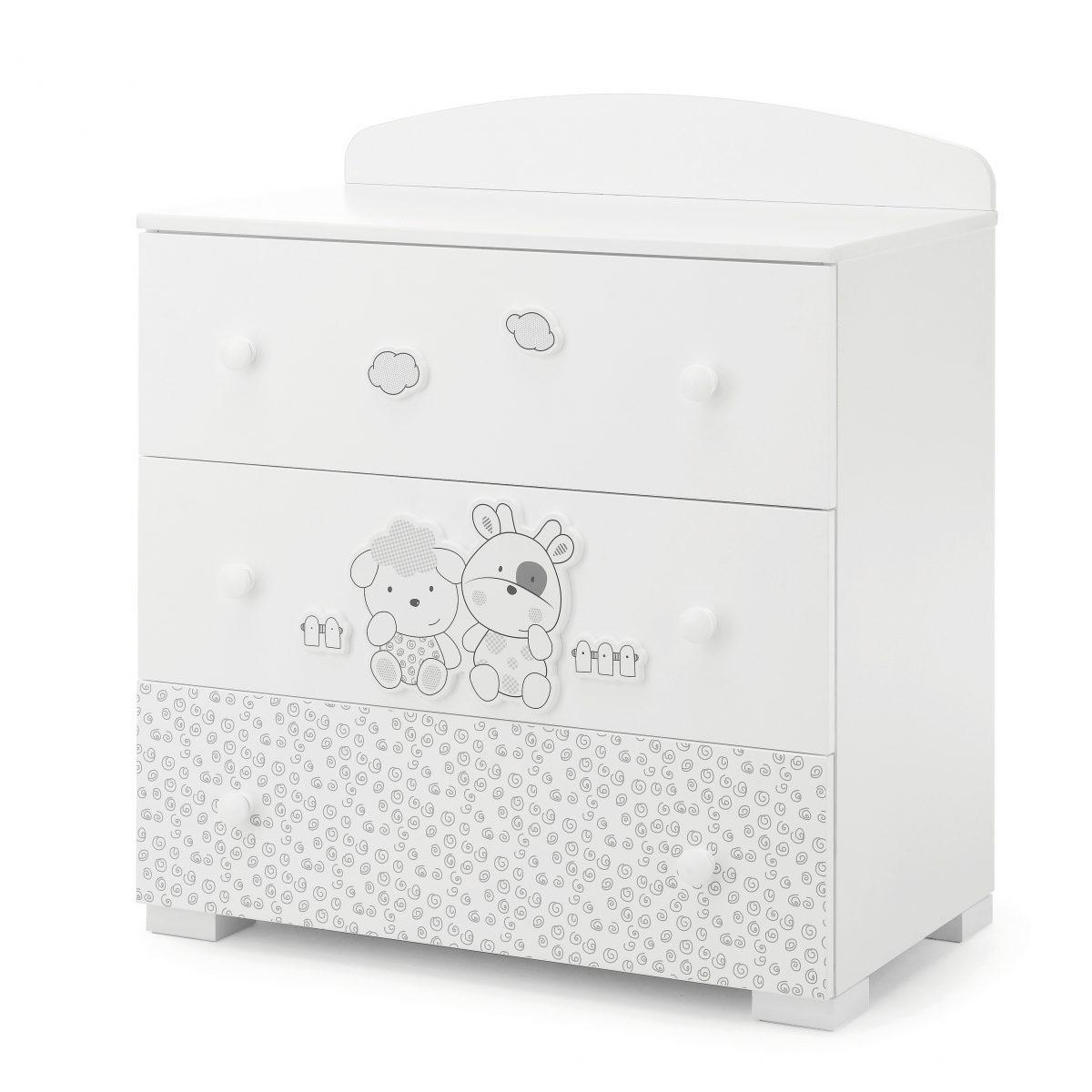 luxusní dětský nábytek - designová komoda Milky