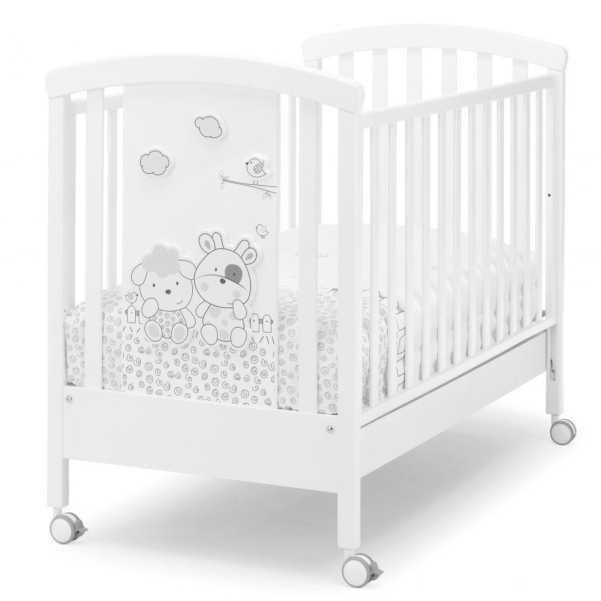 luxusní dětský nábytek - masivní postýlka Milky
