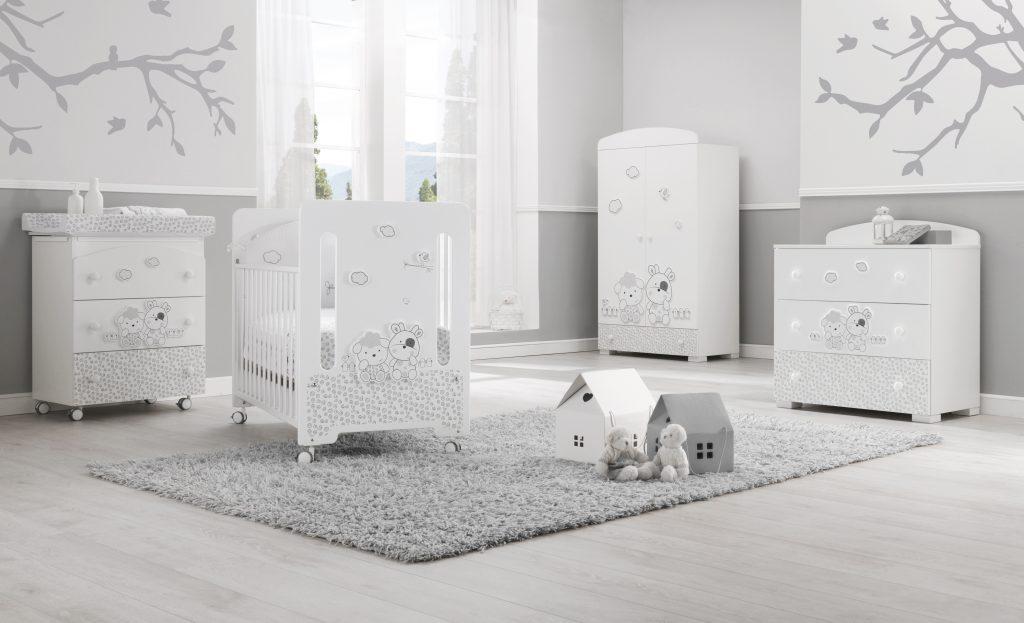 luxusní dětský nábytek - kolekce designového nábytku Milky
