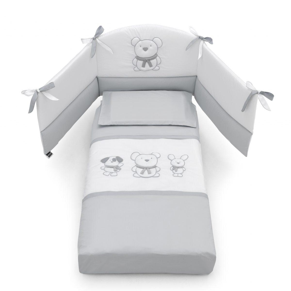 luxusní dětský nábytek - textilie s medvídky Pongo