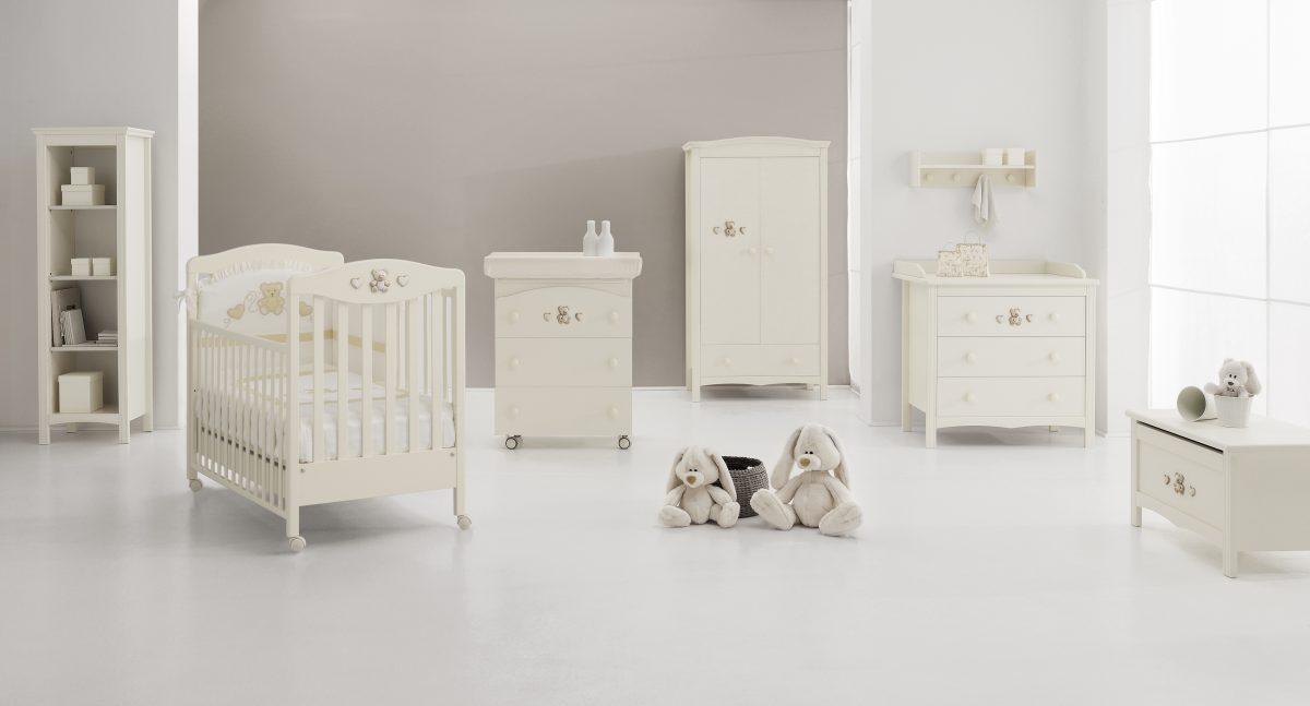 Luxusní dětský pokojíček Tippy Jolie - kolekce dětského nábytku