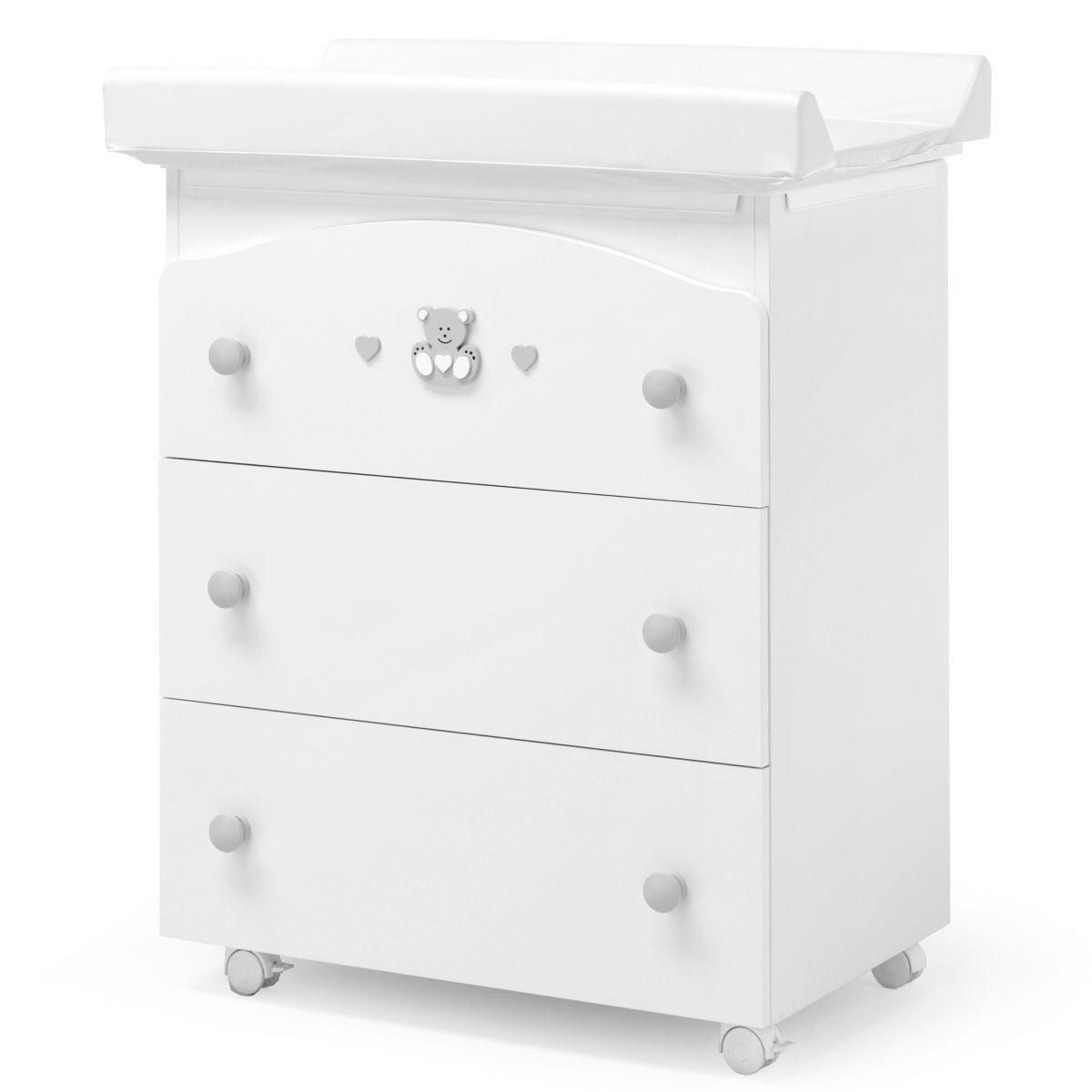 luxusní dětský nábytek - přebalovací pult 3v1 Charly