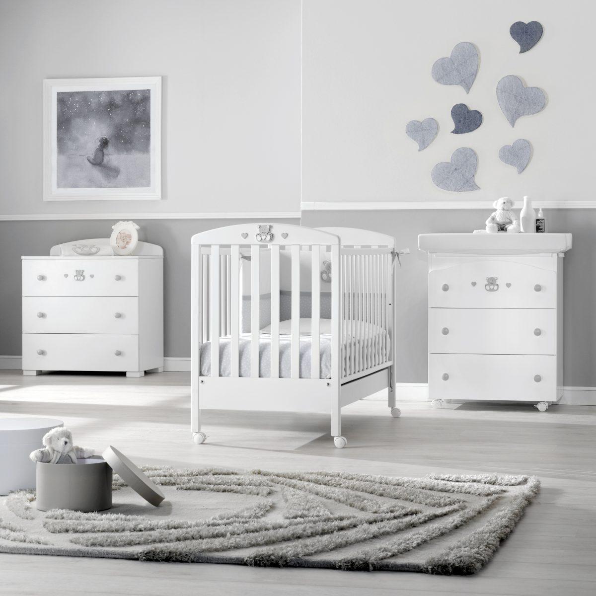 luxusní dětský nábytek - klasický dětský pokoj Charly