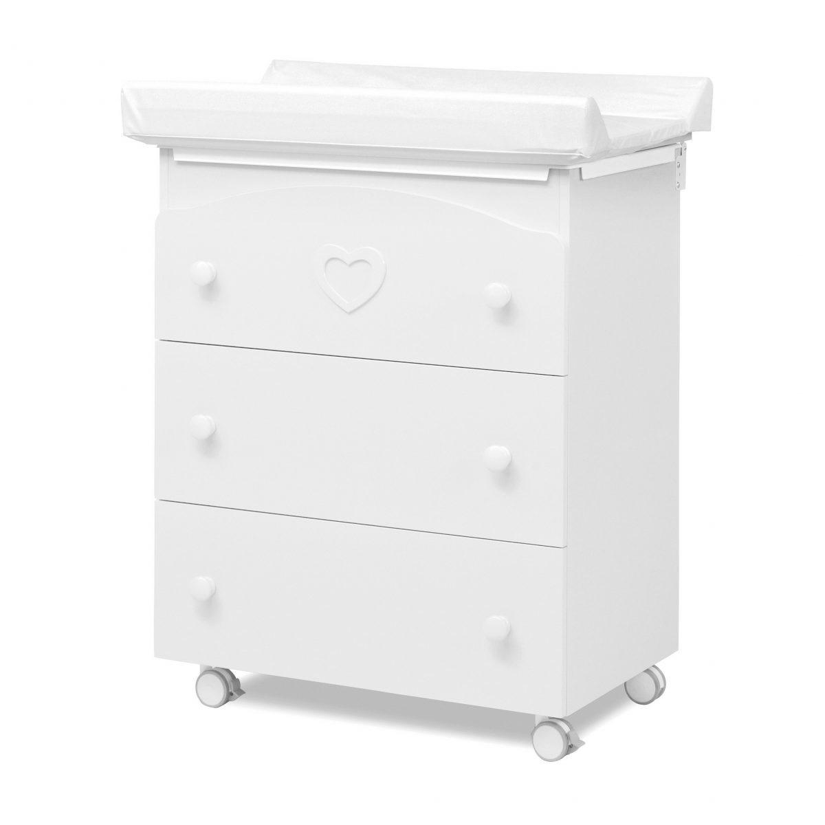 luxusní dětský nábytek - přebalovací pult 3v1 Dolce