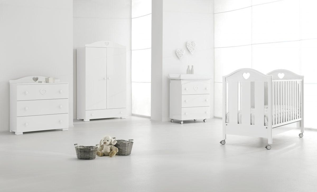 designová kolekce dětského nábytku Dolce - luxusní dětský pokojíček