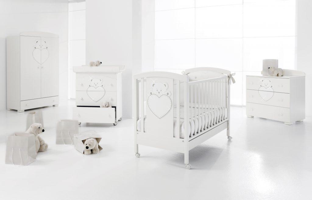 luxusní dětský nábytek - pokojíček Lulu se Swarovski elementy