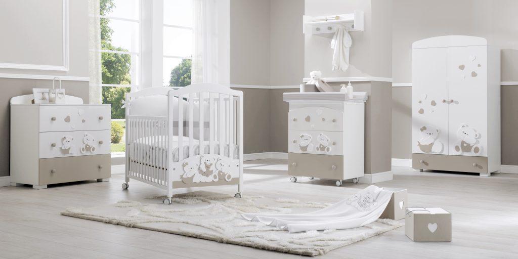 Dětský pokojíček Mirtillo - luxusní dětský nábytek s medvídky