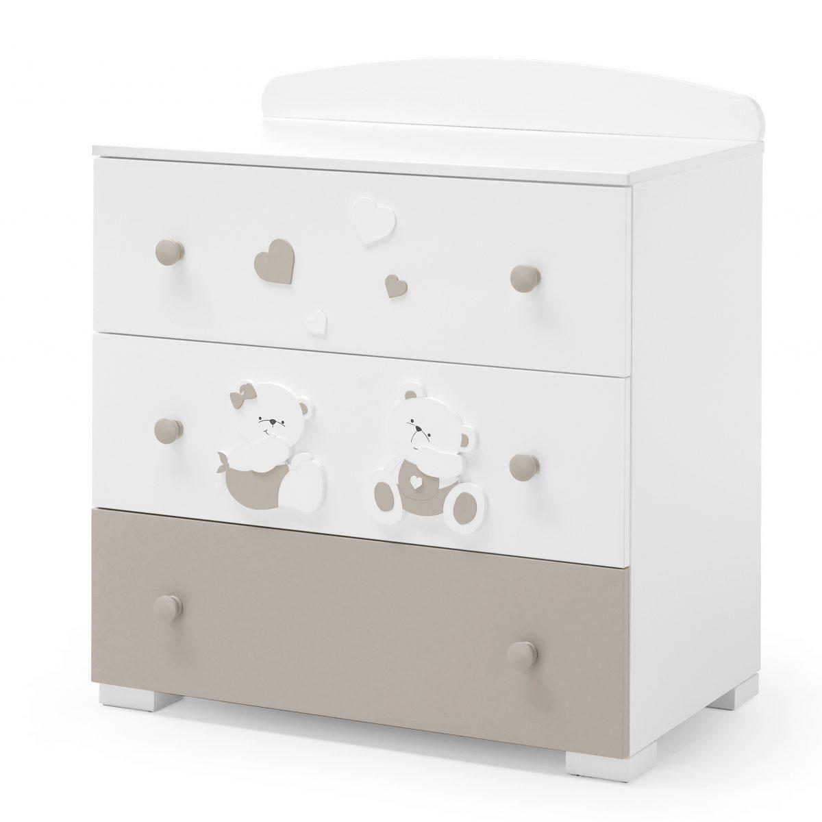 luxusní dětský nábytek - designová komoda Mirtillo