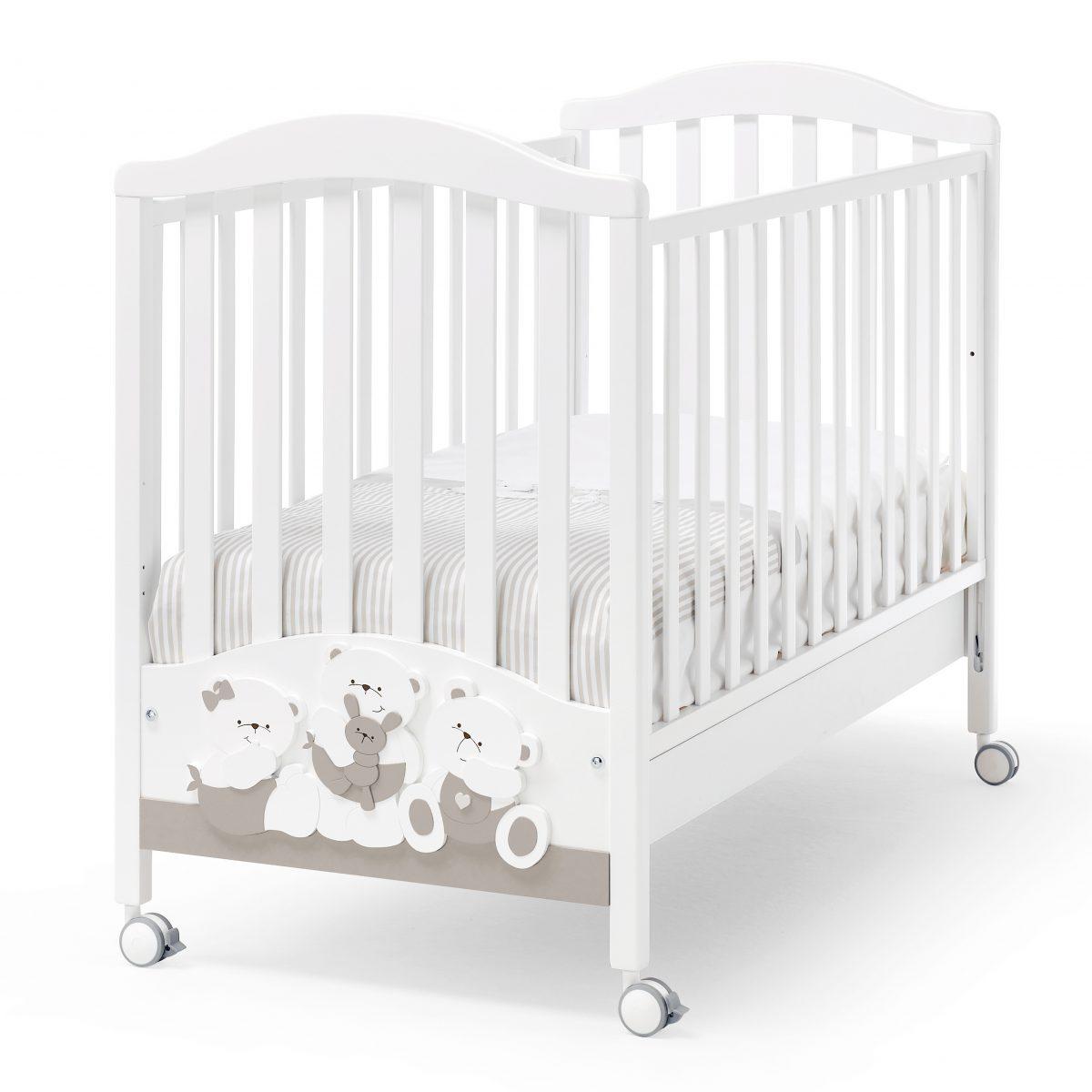 luxusní dětský nábytek - masivní postýlka Mirtillo
