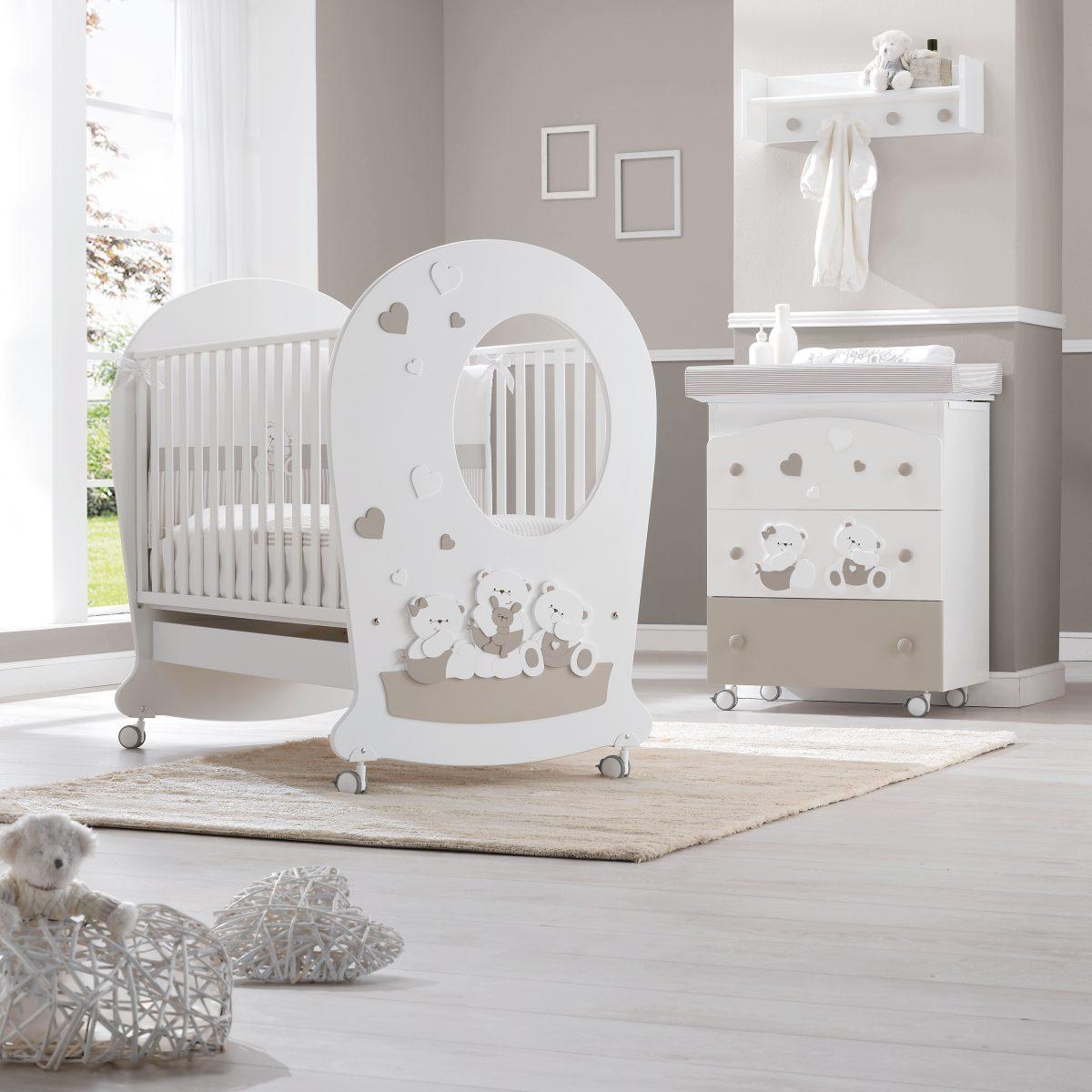 luxusní dětský nábytek - pohádkový dětský pokoj Mirtillone