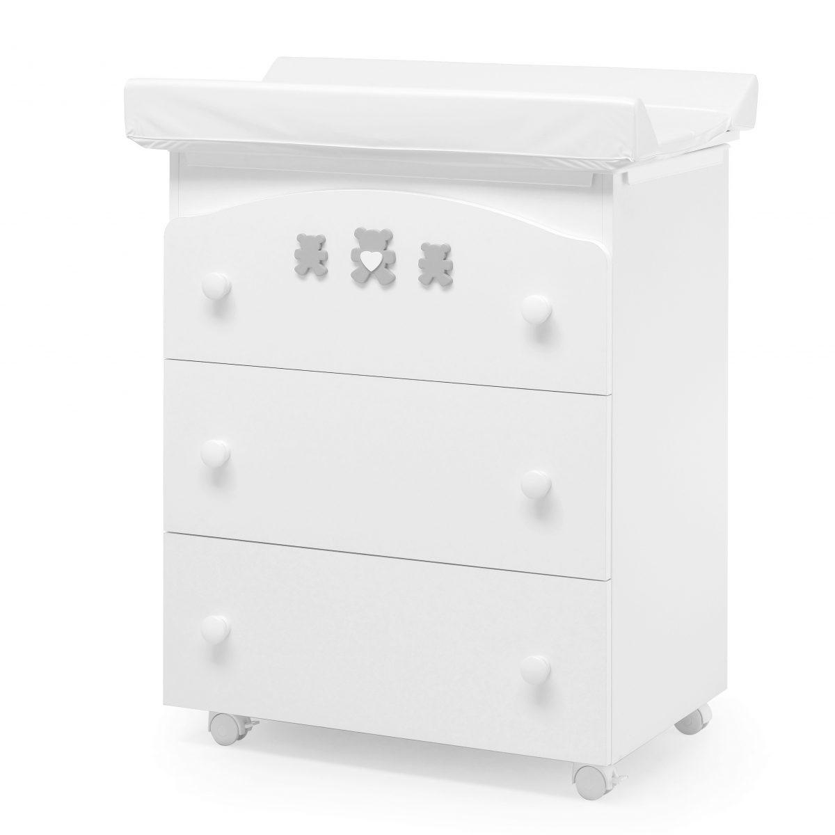 luxusní dětský nábytek - přebalovací pult 3v1 Molly