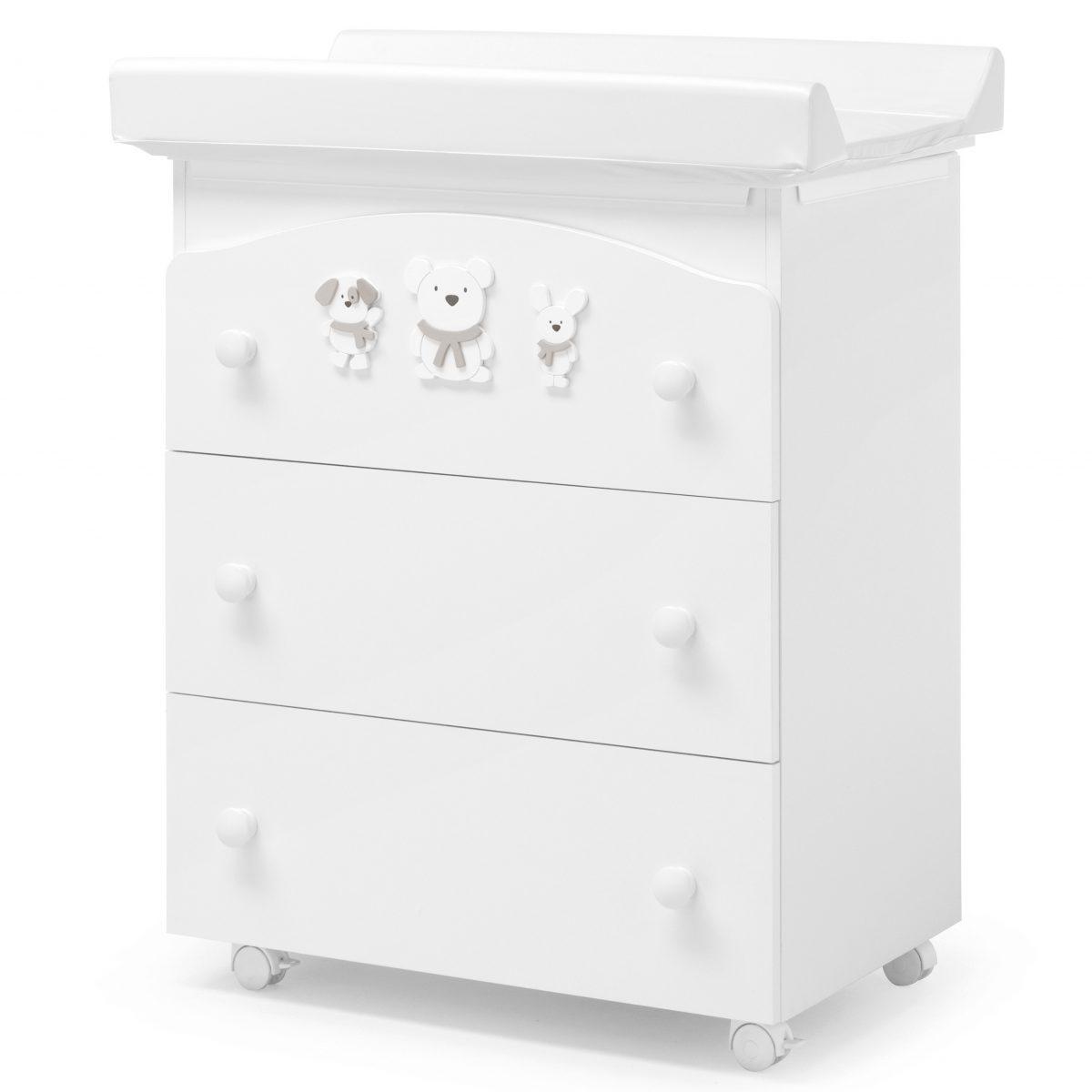 luxusní dětský nábytek - přebalovací pult Pongo