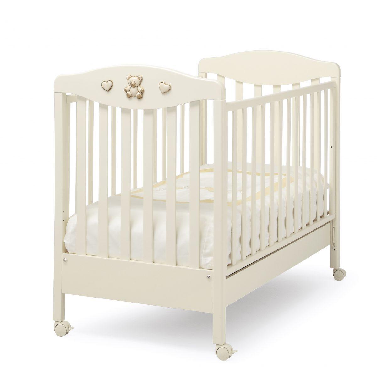 luxusní dětský nábytek - masivní postýlka Jolie